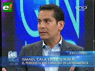 Ismael Cala: Nunca voy a pedir otra entrevista con Evo Morales