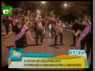 35 agrupaciones participaron en Entrada autóctona de festividad de Urkupiña
