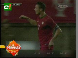 Gol de Ronaldo da a Portugal empate ante Holanda