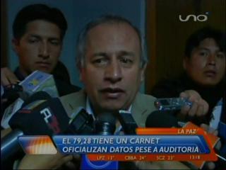 Más de 2 millones de bolivianos aún no tienen carnet de identidad