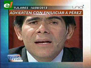 Titulares: MSM advierte con iniciar proceso por injuria en contra del Viceministro Pérez