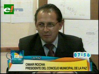 Alcaldía de La Paz pagó por dos tuercas más de Bs. 31.000, Concejal Rocha presenta una querella penal
