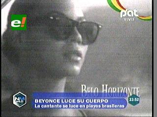"""El video """"retro"""" de Beyoncé en Brasil: sol, playa y bikini"""