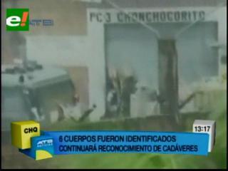 IDIF identifica 6 cuerpos de las 32 personas que perecieron en Palmasola