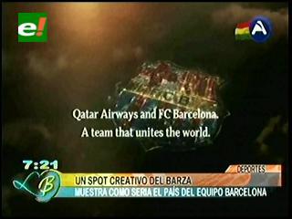 El espectacular spot del Barcelona y Qatar Airways