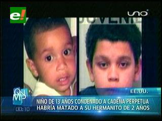 EEUU: Cristian Fernández, con solo 13 años enfrenta la cadena perpetua