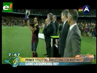 Un empate a cero le da la Supercopa al Barcelona