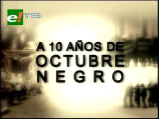 """Una década después, aún está pendiente la agenda de """"octubre negro"""""""