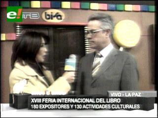 Arrancó la XVIII Feria Internacional del Libro de La Paz
