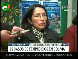 """CIDEM reporta 125 casos de """"feminicidio"""" en casi 10 meses y exige inversión para aplicar la Ley 348"""