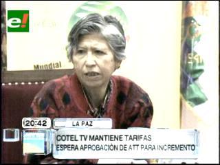 Cotel posterga incremento de tarifas de televisión por cable