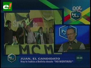 """Juan del Granado: Tengo temores pero sigo siendo """"Juan Sin Miedo"""""""