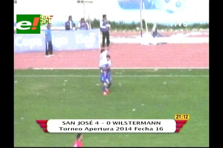 Precarnavalera. San José golea a Wilstermann