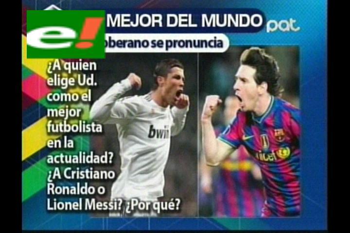 El mejor jugador del mundo, ¿Messi o Ronaldo?
