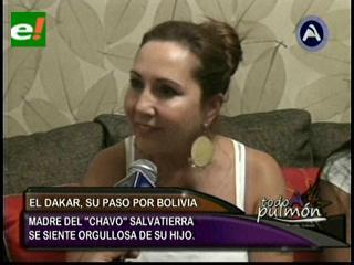 Mamá de Chavo Salvatierra: Si Dios y la Virgen lo acompañan terminará entre los 10 mejores