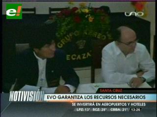 Gobierno y autoridades cruceñas acuerdan garantizar la cumbre G-77+China en Bolivia
