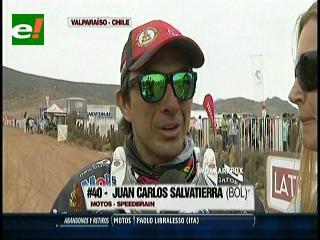 """""""Chavo"""" Salvatierra cruza la meta del Dakar y se mete entre los más grandes"""