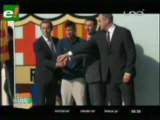 Barcelona, sin presidente por el pase de Neymar
