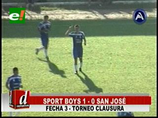Sport Boys superó a San José