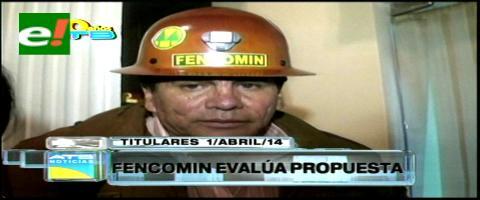 Titulares: Fedecomin se reúne de emergencia para evaluar la propuesta del Gobierno