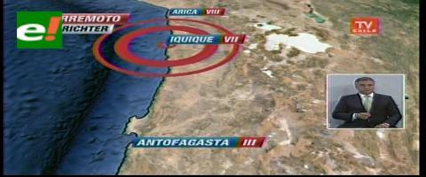 Alerta de tsunami en Chile, Perú y Ecuador por terremoto de 8,0