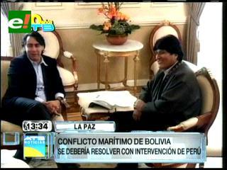 Ex candidato chileno pide en Bolivia incluir a Perú en diálogo por mar