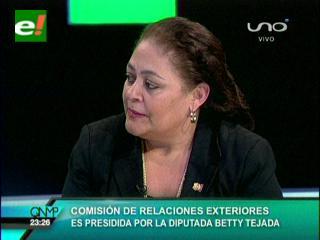 Tejada: Comisión de Política Internacional priorizará G77 y relación con residentes bolivianos