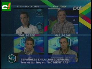 Españoles en la liga boliviana