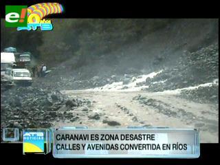Caranavi es declarada zona de desastre con más de 90% de comunidades afectadas por las lluvias