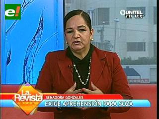 Gonzales: Soza no tiene moral para hablar de jurisdicción