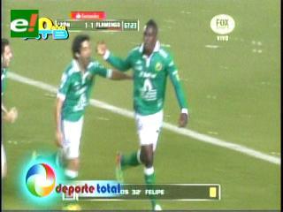 León supera al Flamengo en el inicio del grupo 7