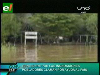 Emergencia en Riberalta: se desbordan pozos de aguas servidas y se teme brote de enfermedades