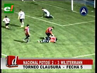 Wilstermann vence a Nacional con triplete de Ramallo