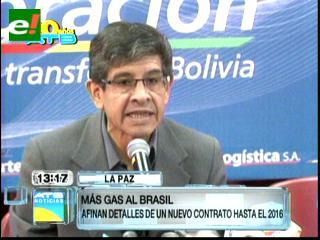 Bolivia y Brasil firmarán nuevo contrato de exportación de gas natural por 34 meses
