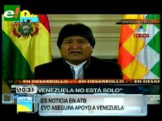 Morales anuncia viaje a Venezuela