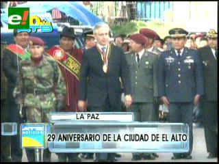 Cámara de Diputados saluda aniversario de El Alto