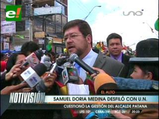 Frente Amplio participó de los homenajes a la ciudad de El Alto