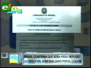 Embajada de Brasil confirma que el ex fiscal Marcelo Soza se encuentra en su país
