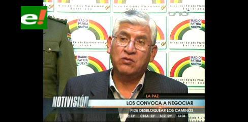Gobierno convoca a cooperativistas mineros al diálogo
