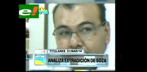 Titulares: Brasil analiza la solicitud de extradición de Marcelo Soza