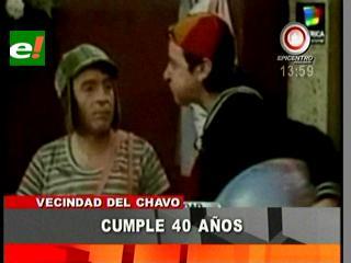 """La Vecindad del """"Chavo del 8"""" cumple 40 años"""