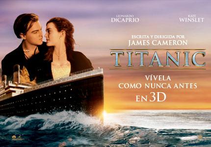 """Titanic 3D: """"Sientes como si estuvieras en el barco"""""""