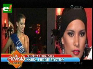 El rostro más bello y la mejor deportista del Miss Bolivia 2012