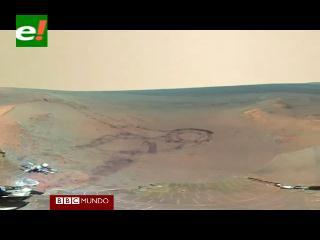 NASA devela imágenes inéditas de Marte