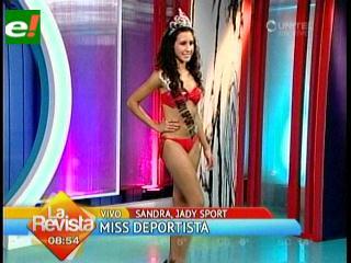 Sandra Aguilera es  Miss Deportista 2012