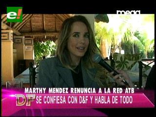 Marthy Méndez renunció a ATB y vuelve a Supermodel