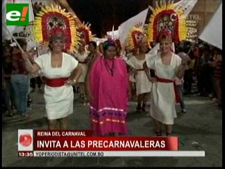 Daniela Saucedo lista para un fin de semana de precarnavaleras