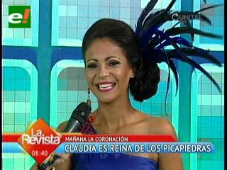 Claudia Campos será coronada como la reina de Los Picapiedras 2013