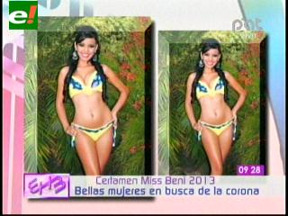 Elección de Miss Beni será el 20 de abril