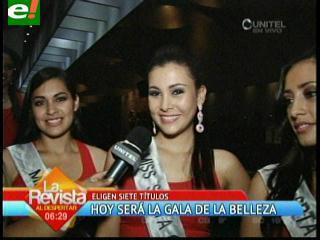 Miss Bolivia 2013: Hoy entregarán 7 títulos previos